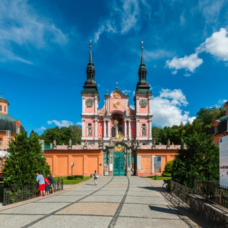 The historic sanctuary 'Pearl of the Baroque' in St. Lipka