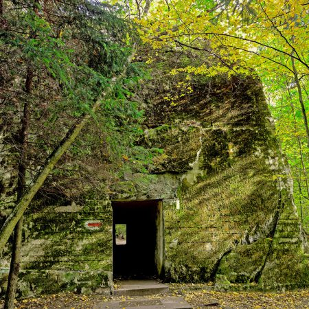 Former headquarters of Hitler 'Wolf's Lair' in Gierloz