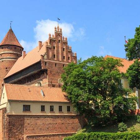 The Teutonic Knights' Castle in Ostróda