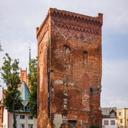 The oldest building in Warmia and Mazury