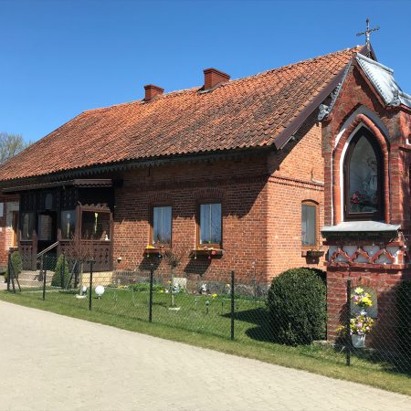 Historical Polish school in Woryty